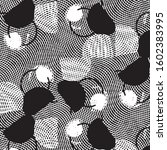 abstract grunge grid stripe... | Shutterstock .eps vector #1602383995