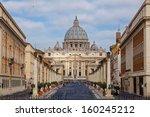 Basilica Di San Pietro. Rome....