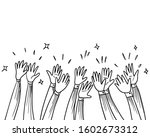 hand drawn sketch style of... | Shutterstock .eps vector #1602673312
