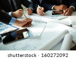 image of human hands during... | Shutterstock . vector #160272092