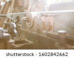 Joiner Old Workroom. Woodworker ...