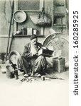 istanbul turkey circa 1900's ... | Shutterstock . vector #160285925