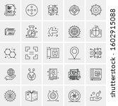 set of 25 universal business...   Shutterstock .eps vector #1602915088