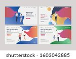 collection of creative mothers... | Shutterstock .eps vector #1603042885