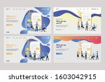 collection of tiny people near... | Shutterstock .eps vector #1603042915