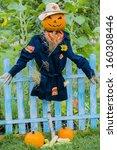 Scarecrow In The Garden  ...