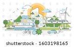 green infrastructure vector...   Shutterstock .eps vector #1603198165