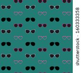 Glasses Vector Seamless Pattern