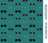 Glasses Vector Seamless Pattern