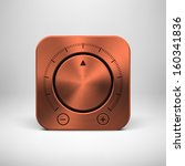 abstract technology app icon ...