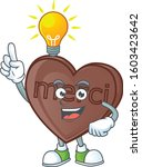have an idea cute gesture one... | Shutterstock .eps vector #1603423642