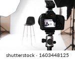Modern Photo Camera In...