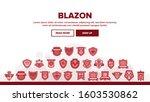 blazon shield shapes landing...