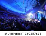 moscow   may 25  spectators in... | Shutterstock . vector #160357616