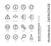 simple set of basic interface...
