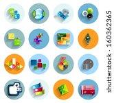 infographic templates inside... | Shutterstock .eps vector #160362365