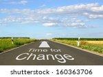 time for change   Shutterstock . vector #160363706