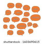 Seamless Pattern With Speech...