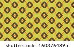 vintage pattern background. ... | Shutterstock .eps vector #1603764895