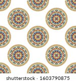 geometric pattern paisley...   Shutterstock .eps vector #1603790875