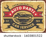 auto parts and car service old...   Shutterstock .eps vector #1603801522