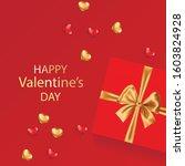 valentine's day concept....   Shutterstock .eps vector #1603824928