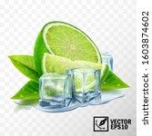 3d realistic vector set of... | Shutterstock .eps vector #1603874602