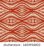 geometric folklore ornament... | Shutterstock .eps vector #1603936822