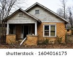 Abandoned House In Malvern  Ar