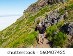 pico ruivo and pico do areeiro... | Shutterstock . vector #160407425