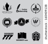 University Labels Set  ...