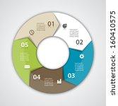 vector circle arrows for...   Shutterstock .eps vector #160410575