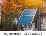 Solars Cell Panels Inside Steal ...