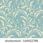 vector textile   wallpaper... | Shutterstock .eps vector #160422788