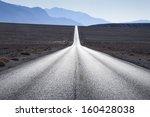 Straight Road Towards Mountain...