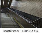 low angle view of subway... | Shutterstock . vector #1604315512