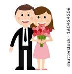 family design over white...   Shutterstock .eps vector #160434206