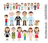 family design over white...   Shutterstock .eps vector #160435082