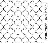 qua trefoil geometric seamless... | Shutterstock .eps vector #1604446378
