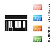 black music synthesizer icon...   Shutterstock . vector #1604461708
