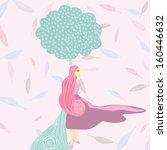 fashion beauty | Shutterstock .eps vector #160446632