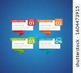 modern and creative business... | Shutterstock .eps vector #1604473915
