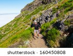 pico ruivo and pico do areeiro... | Shutterstock . vector #160450808
