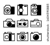 camera icon isolated sign...   Shutterstock .eps vector #1604590885