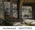Mill Stream Flowing Beneath The ...