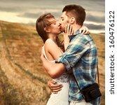 stunning sensual outdoor... | Shutterstock . vector #160476122
