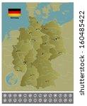 germany | Shutterstock .eps vector #160485422