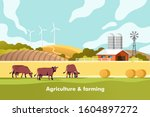 agriculture and farming....   Shutterstock .eps vector #1604897272