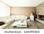 interior  beautiful apartment ... | Shutterstock . vector #160490465