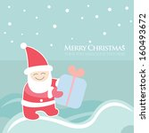 christmas  new year greeting... | Shutterstock .eps vector #160493672